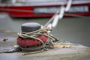 amarrage d'un bateau