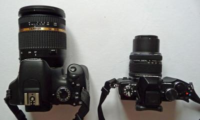 Comparaison Canon 550D - Olympus E-M10