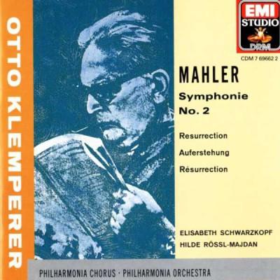 Pochette de l'album dirigé par Klemperer
