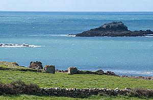 Paysage de mer dans le Cotentin