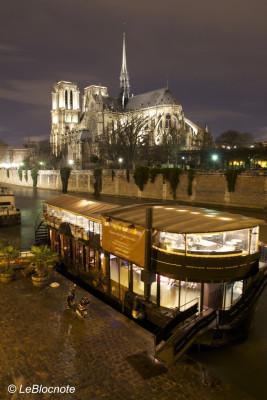 Notre-Dame-de-Paris de nuit