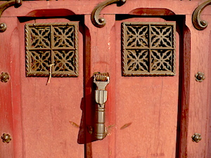 Détail d'une porte ancienne