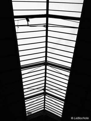 Verrière à la gare Saint-Lazare