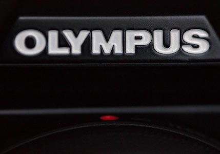 Viseur de l'Olympus vu du dessus