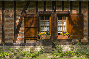Détail d'une vieille maison