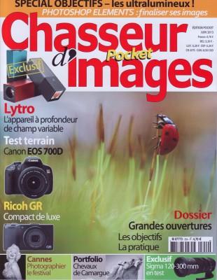 Couverture du numéro 354 de Chasseur d'Images