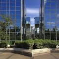 Effet de perspective sur un immeuble moderne