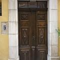 Porte de maison à Fayence
