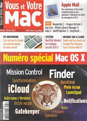 Couverture du Vous et Votre Mac 86