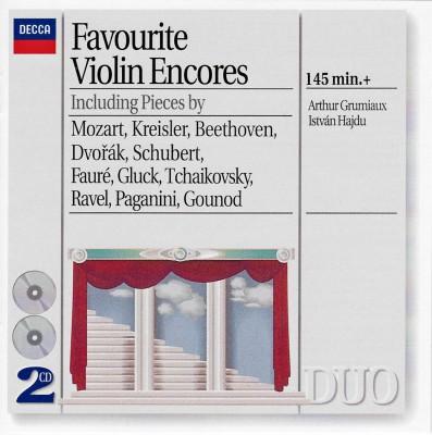 Pochette de l'album Favourite Violin Encores