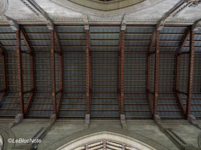 Plafon d'une église