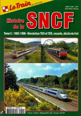 Couverture du tome 5 de l'histoire de la SNCF