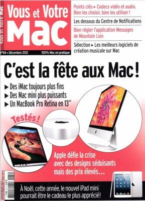 Couverture du numéro 84 de Vous et Votre Mac