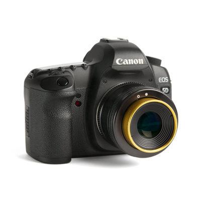 LensBaby Twist 60 monté sur un Canon EOS 5D