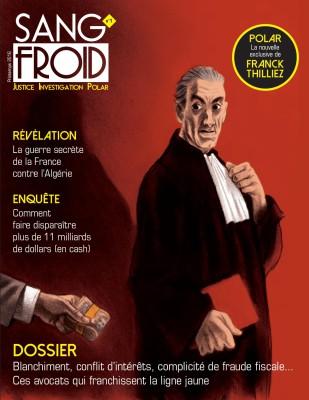 Couverture de la nouvelle revue Sang Froid