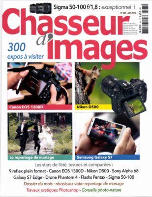Couverture du numéro 384 de Chasseur d'Images