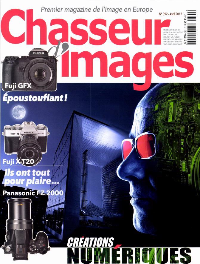 Couverture du numéro 392 de Chasseur d'Images